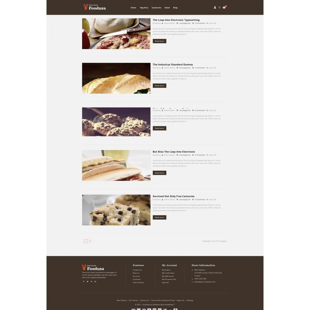 theme - Lebensmittel & Restaurants - Foodusa Store - 6