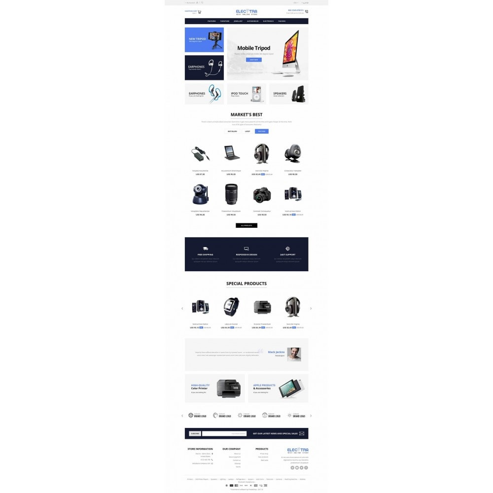 theme - Elektronika & High Tech - Electra Store - 6