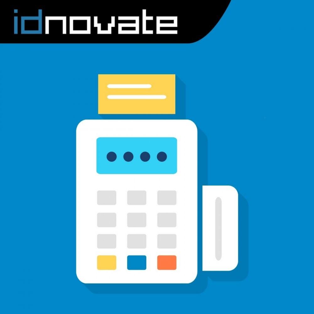 module - TPV (POS) - Pago offline/manual con tarjeta de crédito/débito - 1