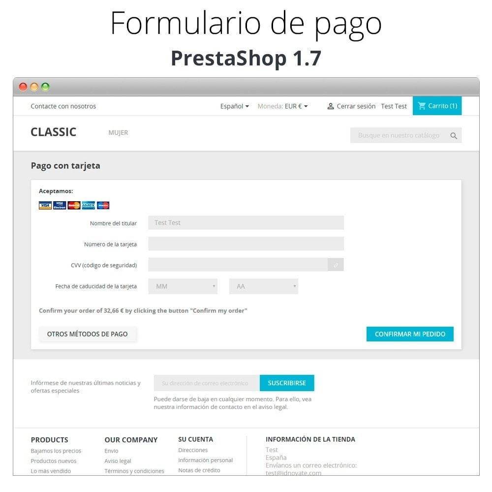 module - TPV (POS) - Pago offline/manual con tarjeta de crédito/débito - 6