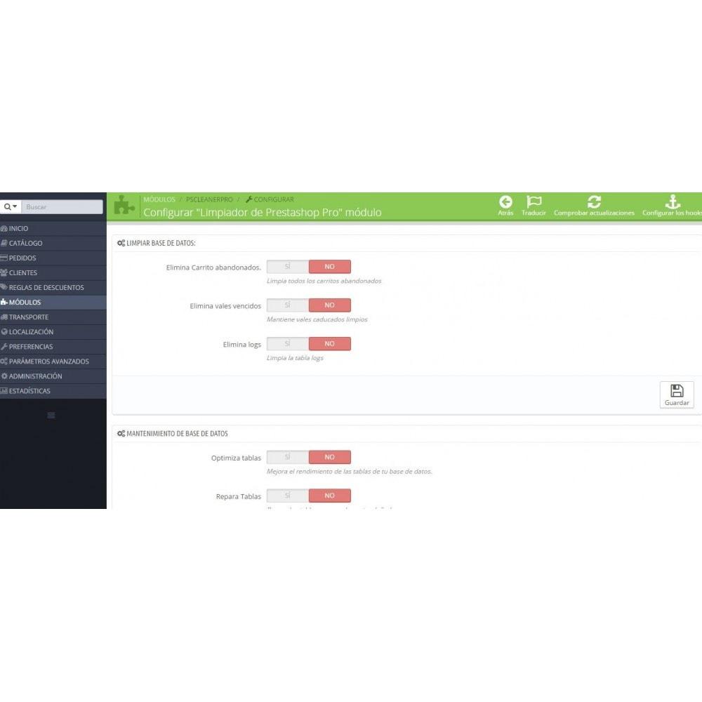 module - Rendimiento del sitio web - Limpiador Pro - 3