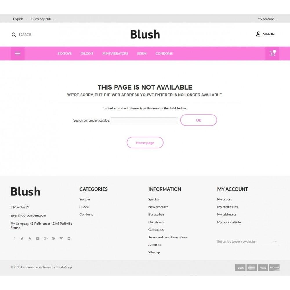 theme - Lingerie & Adulte - Blush - Sex Shop - 8