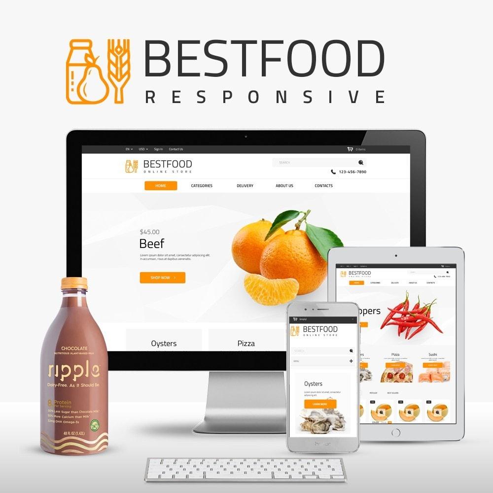 theme - Gastronomía y Restauración - Best Food - Online Market - 1