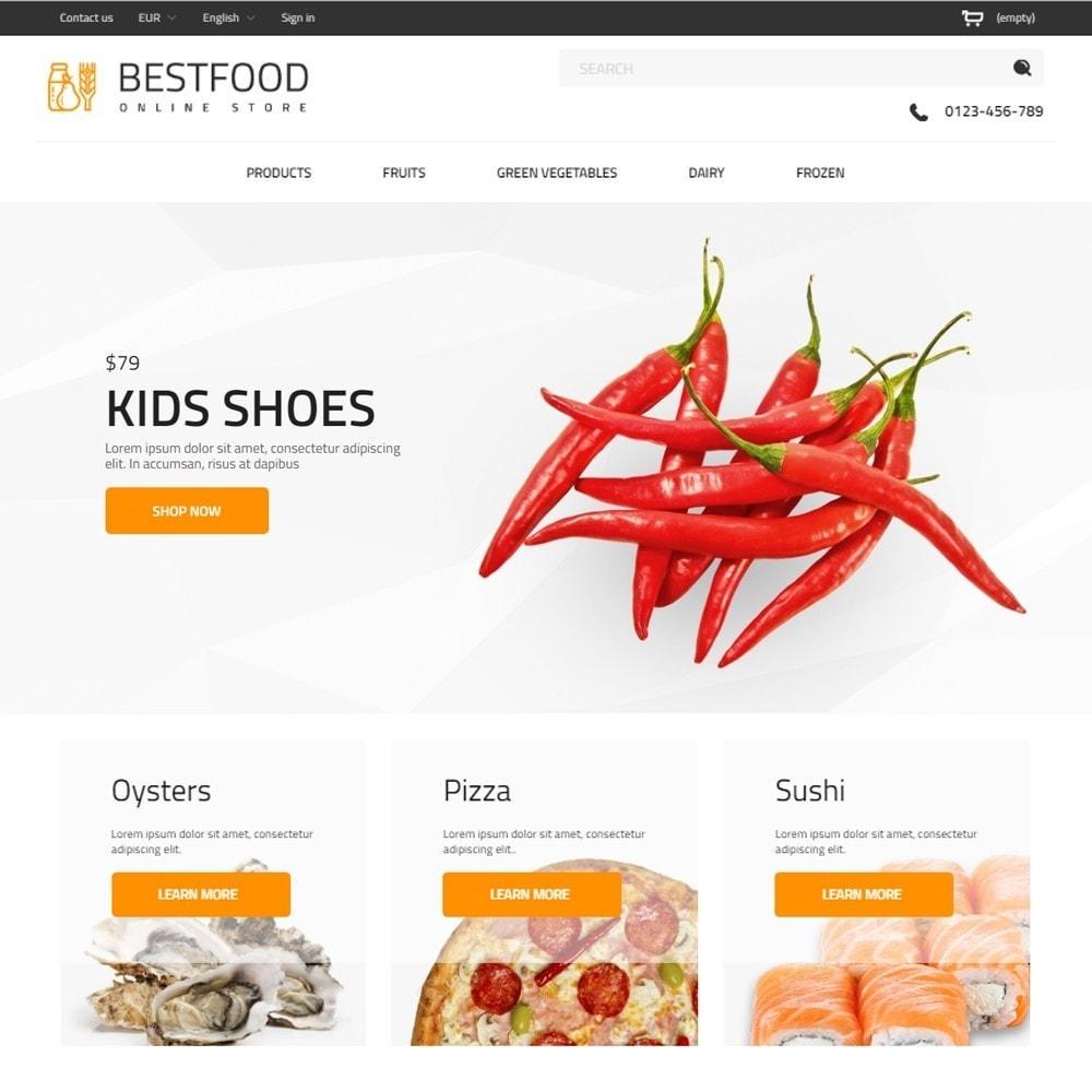 theme - Gastronomía y Restauración - Best Food - Online Market - 2