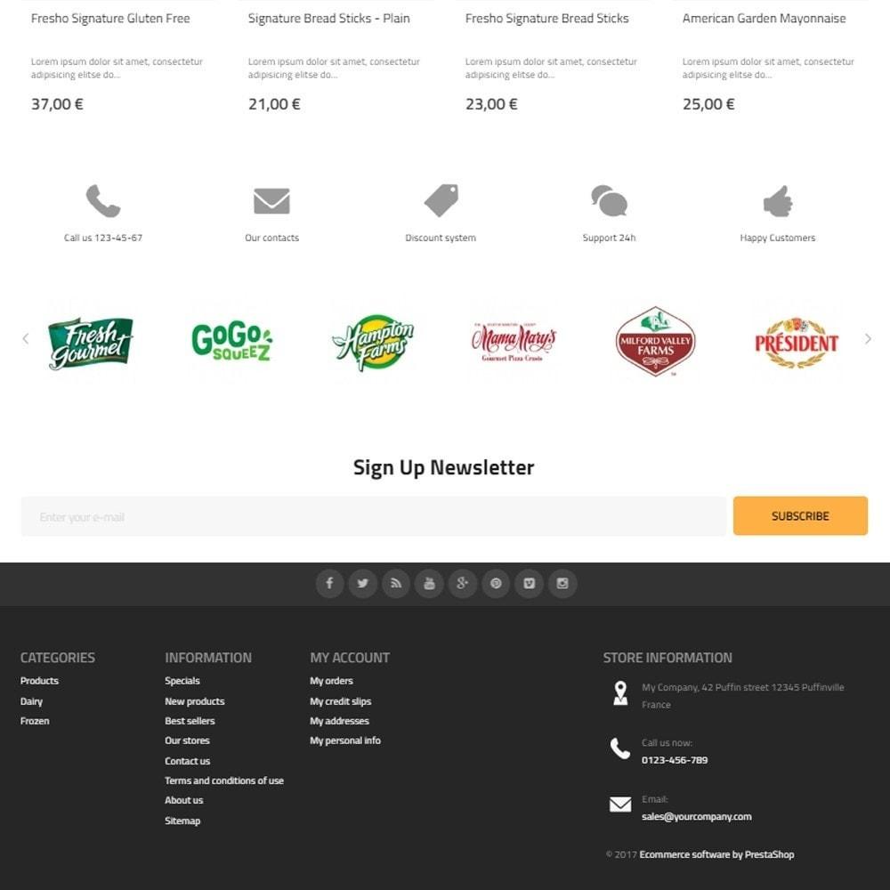 theme - Gastronomía y Restauración - Best Food - Online Market - 4