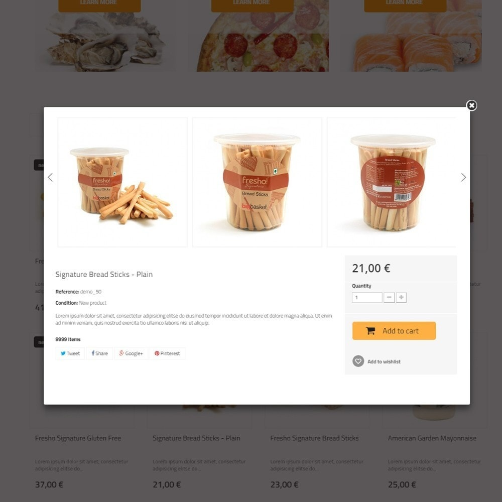 theme - Cibo & Ristorazione - Best Food - Online Market - 5