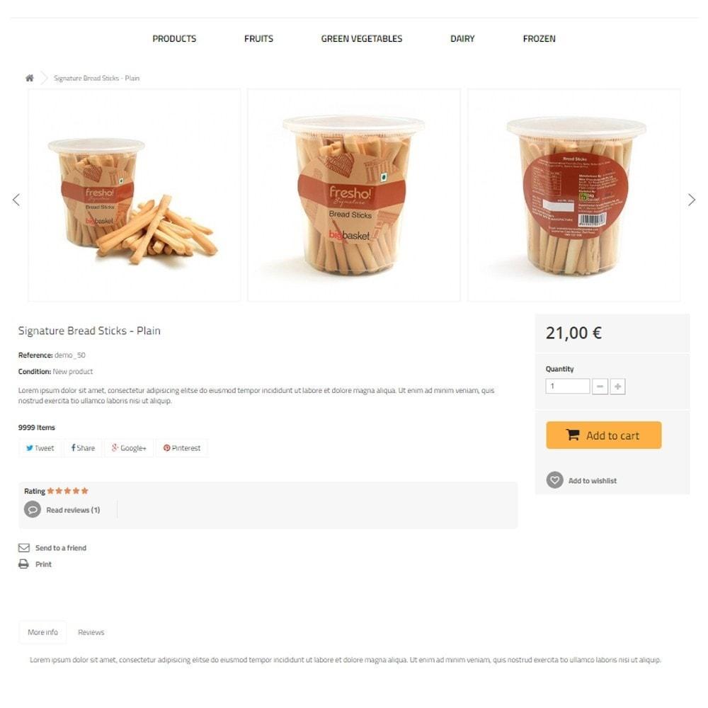 theme - Gastronomía y Restauración - Best Food - Online Market - 6