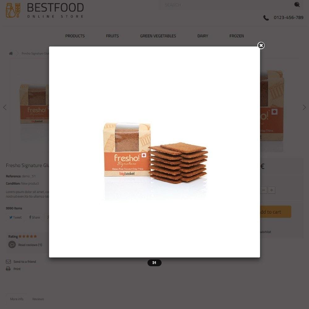 theme - Cibo & Ristorazione - Best Food - Online Market - 8