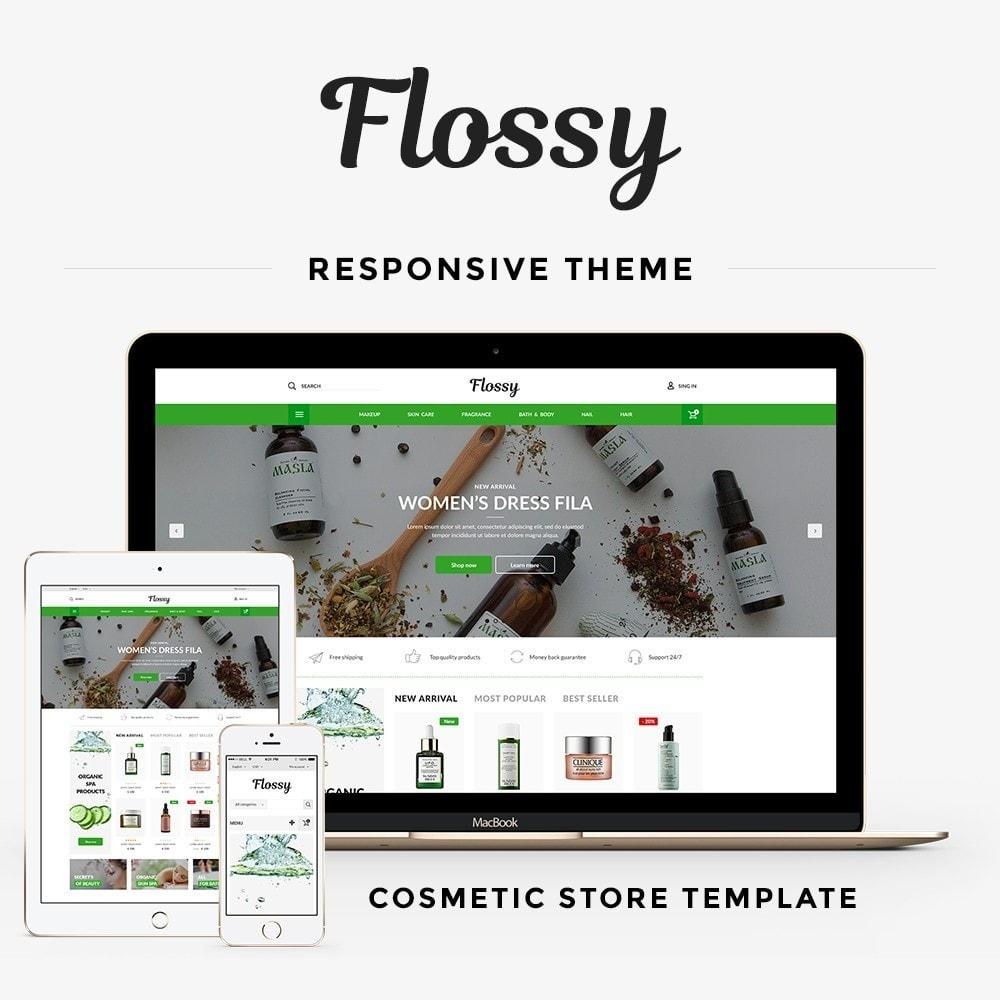 theme - Здоровье и красота - Flossy Cosmetics - 1