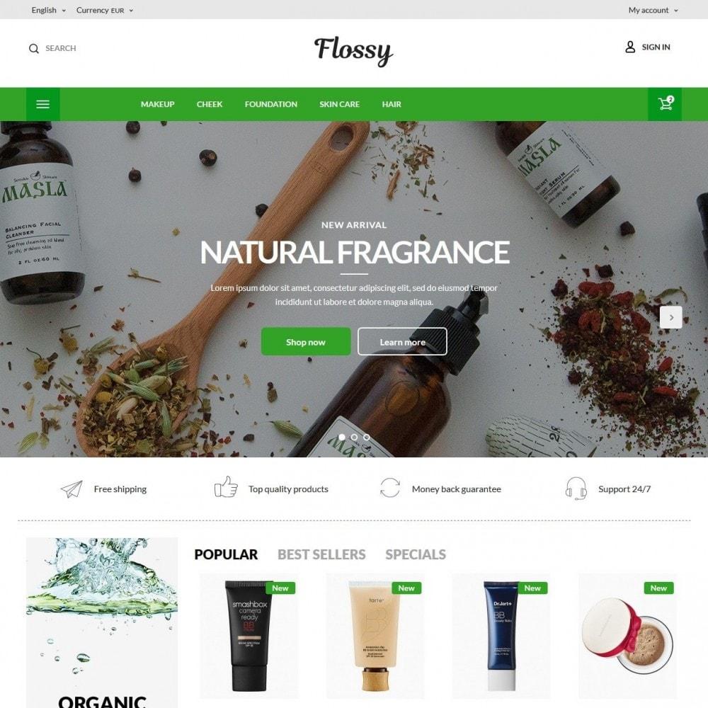 theme - Здоровье и красота - Flossy Cosmetics - 2