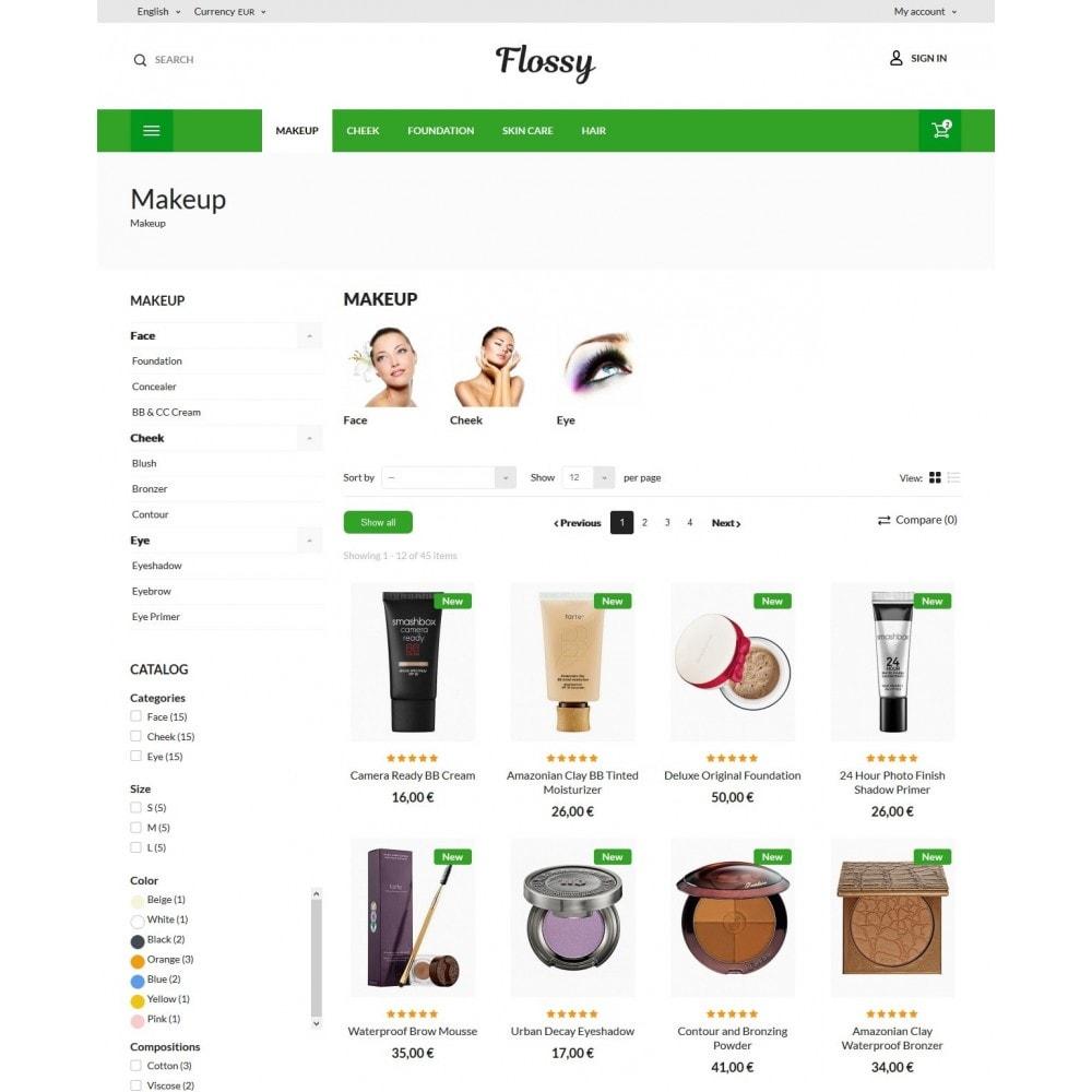 theme - Здоровье и красота - Flossy Cosmetics - 6