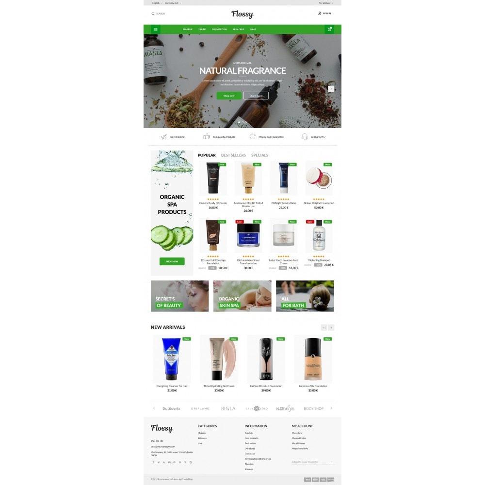 theme - Здоровье и красота - Flossy Cosmetics - 10