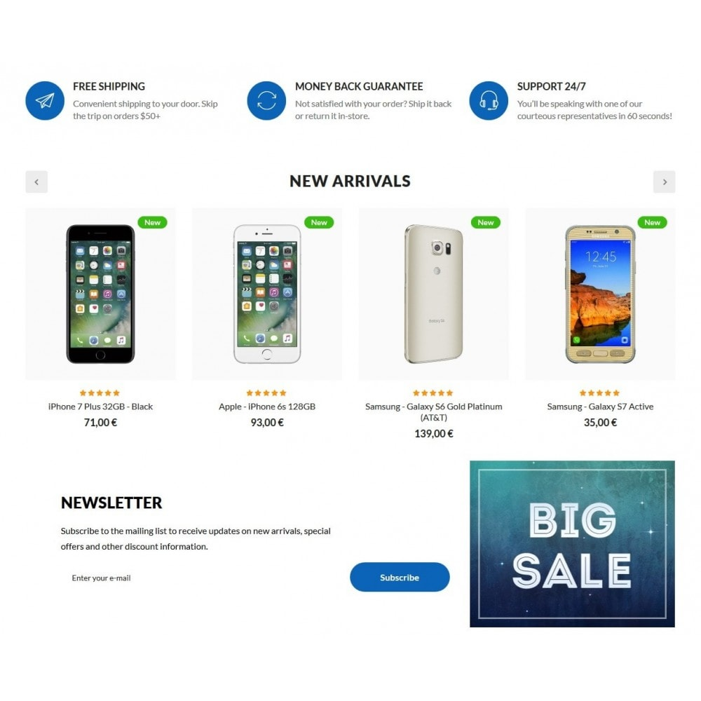 theme - Electronique & High Tech - Splash High-tech Shop - 3