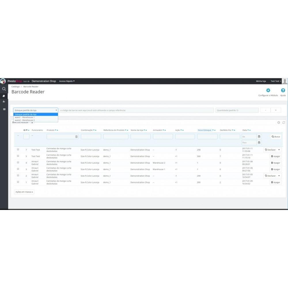 module - Estoques & Fornecedores - Gerenciador de Estoque por Código de Barras - 6