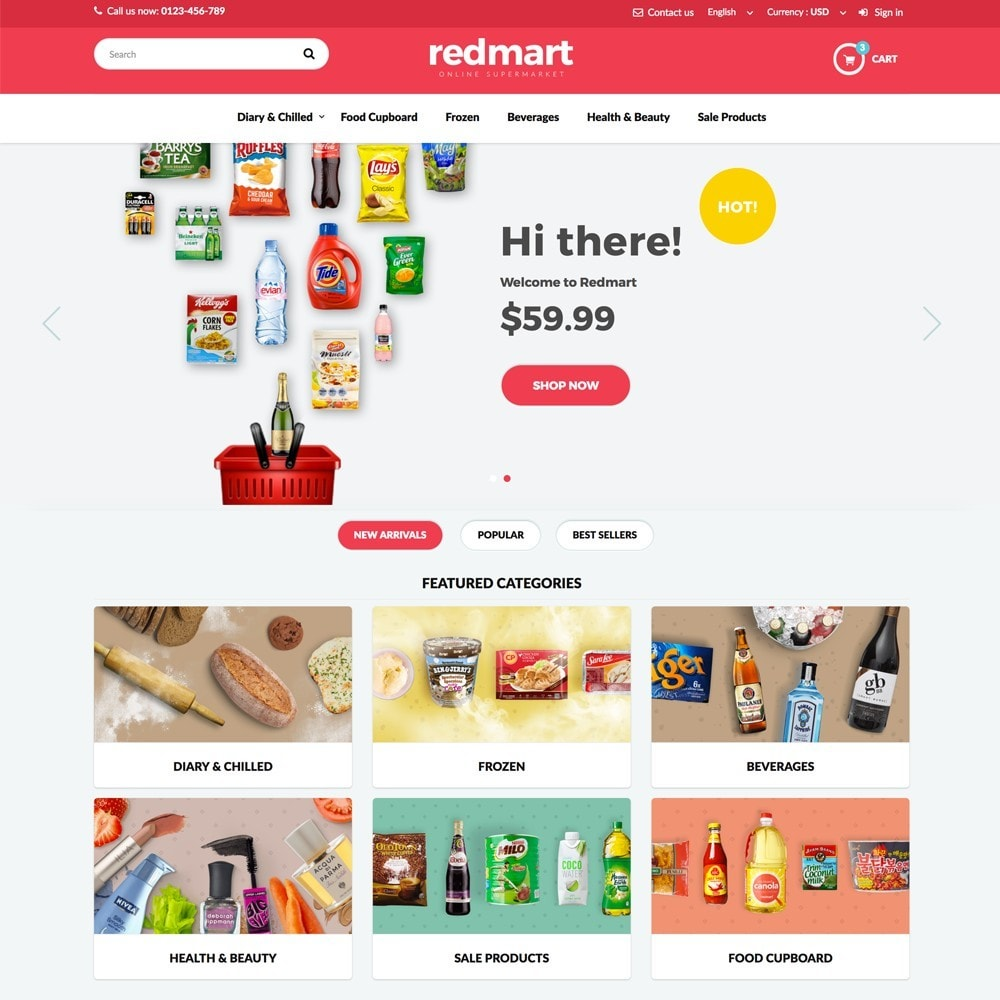 theme - Alimentos & Restaurantes - REDMART - 2