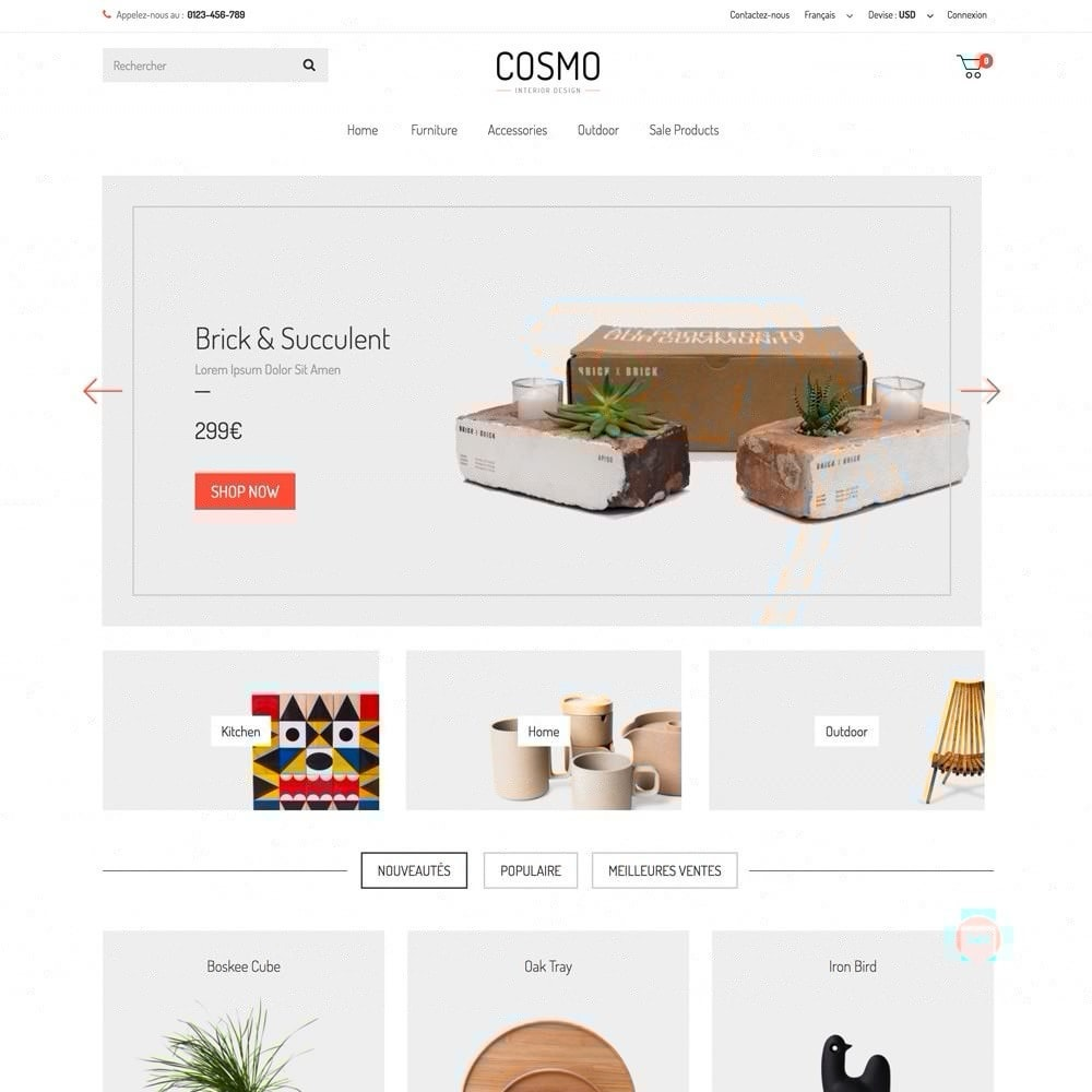 theme - Home & Garden - COSMO - 1