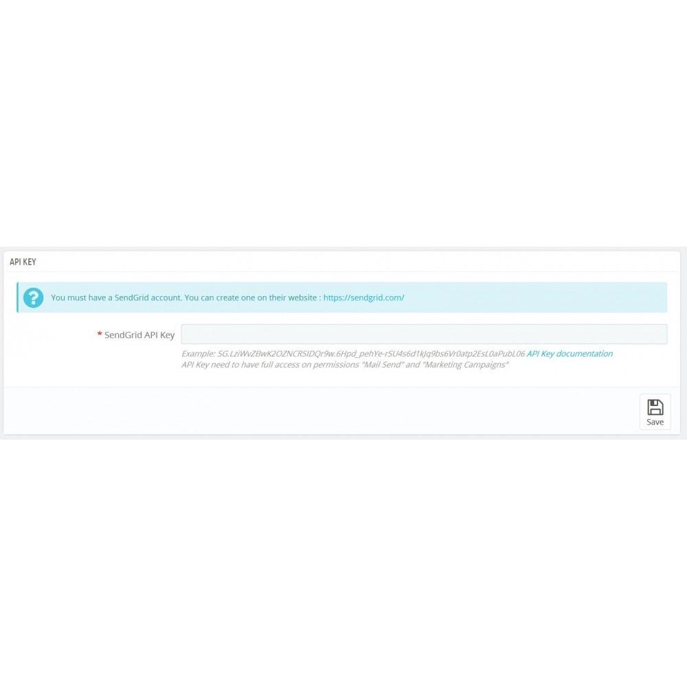 module - Newsletter & SMS - SendGrid SendSync - 2