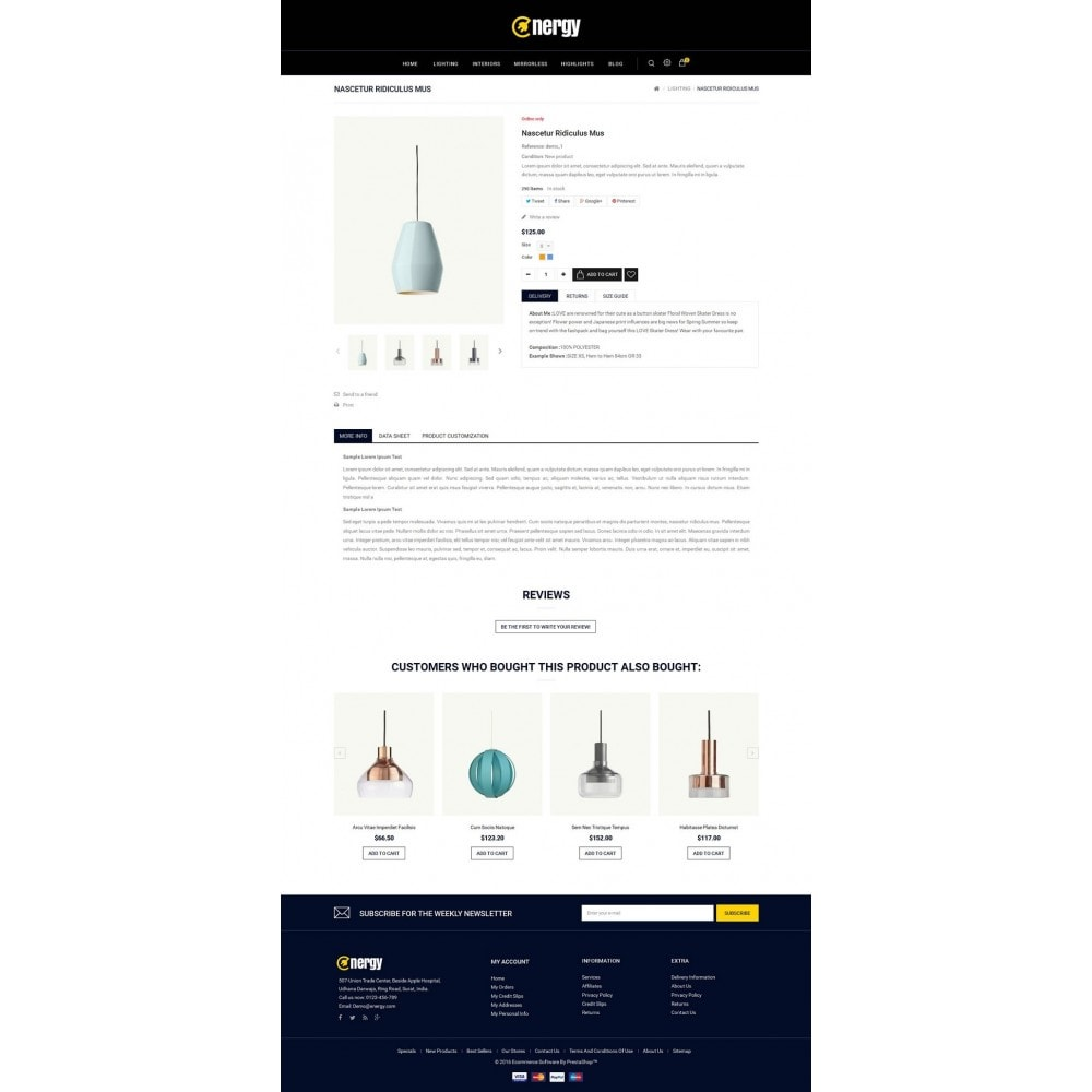 theme - Electrónica e High Tech - Energy lighting Store - 5