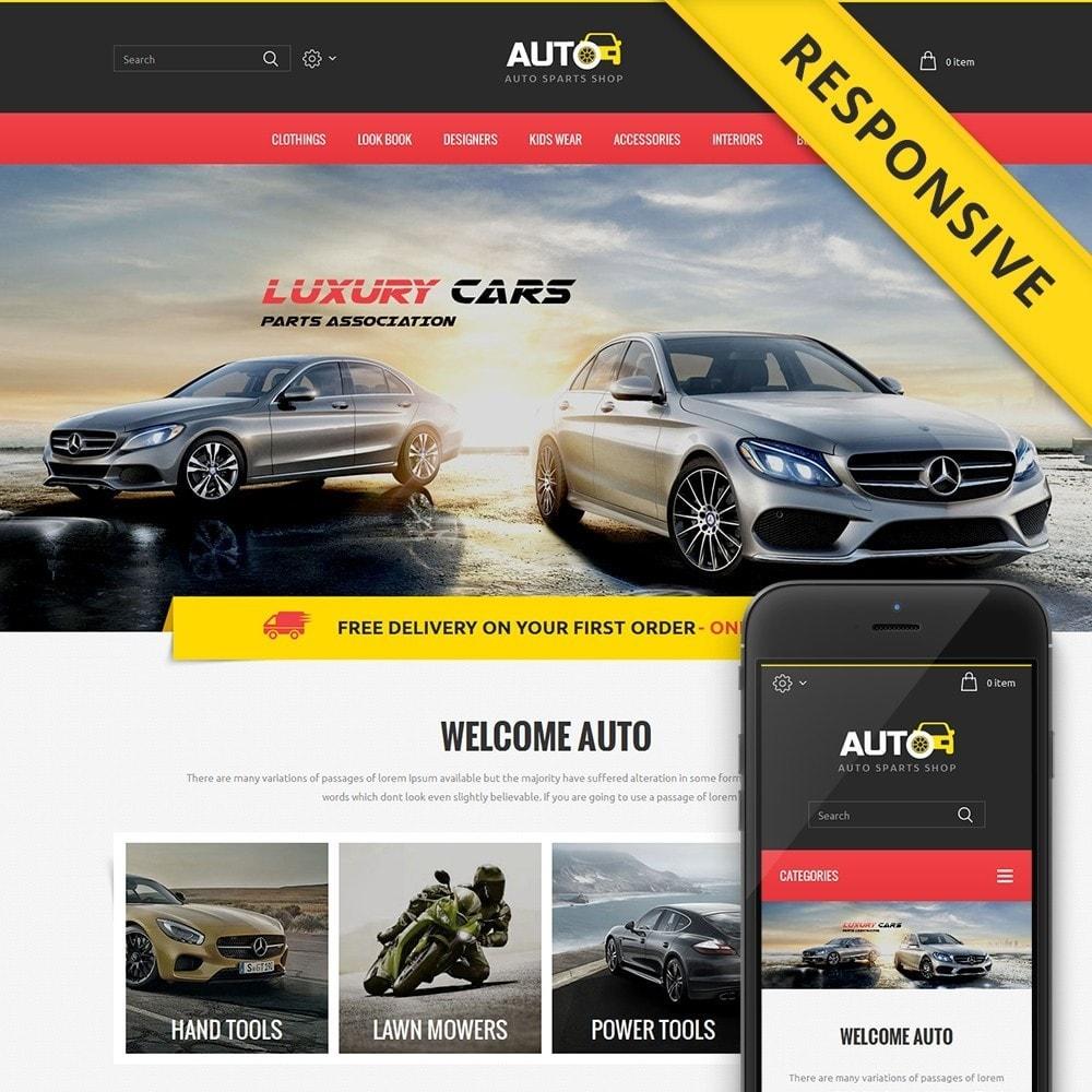 theme - Samochody - Auto Spare Parts Store - 1