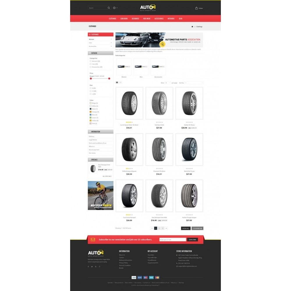 theme - Samochody - Auto Spare Parts Store - 3