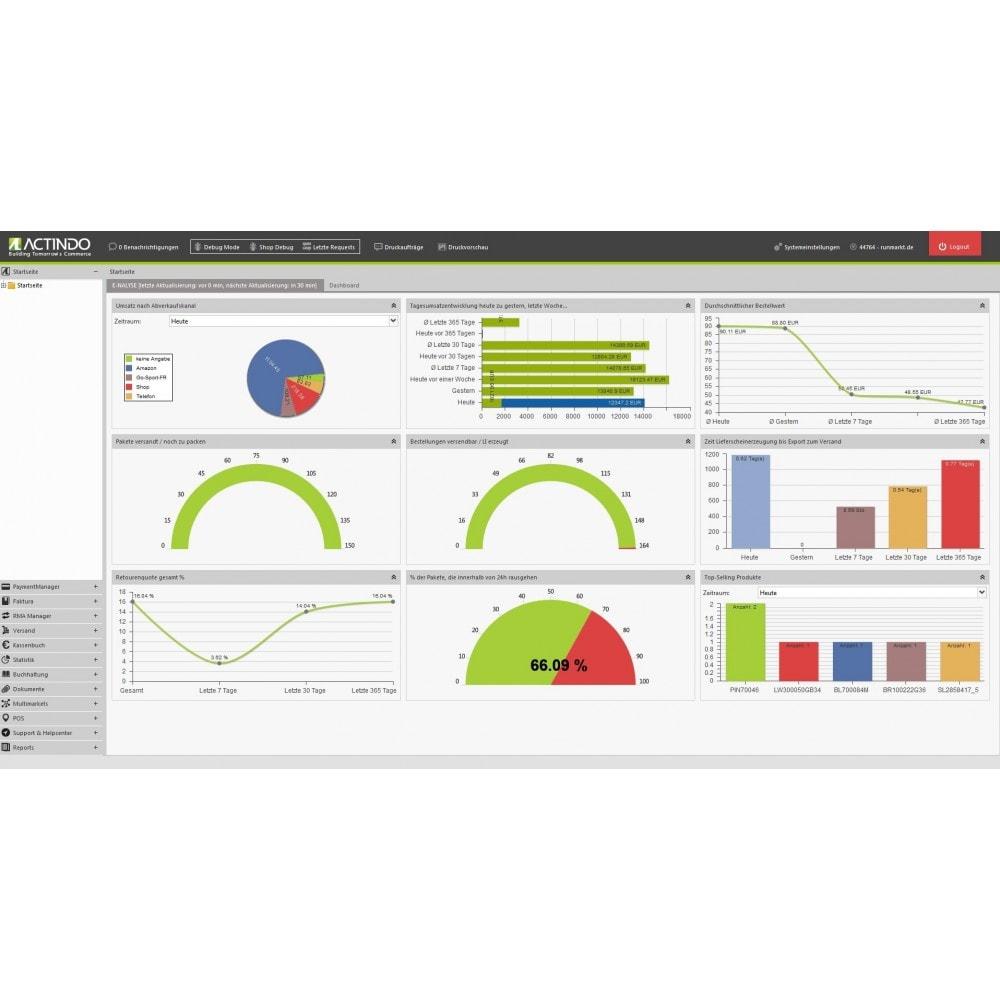 module - Integracja z programami stron trzecich (CRM, ERP...) - Actindo RetailSuite ERP Connector - 1