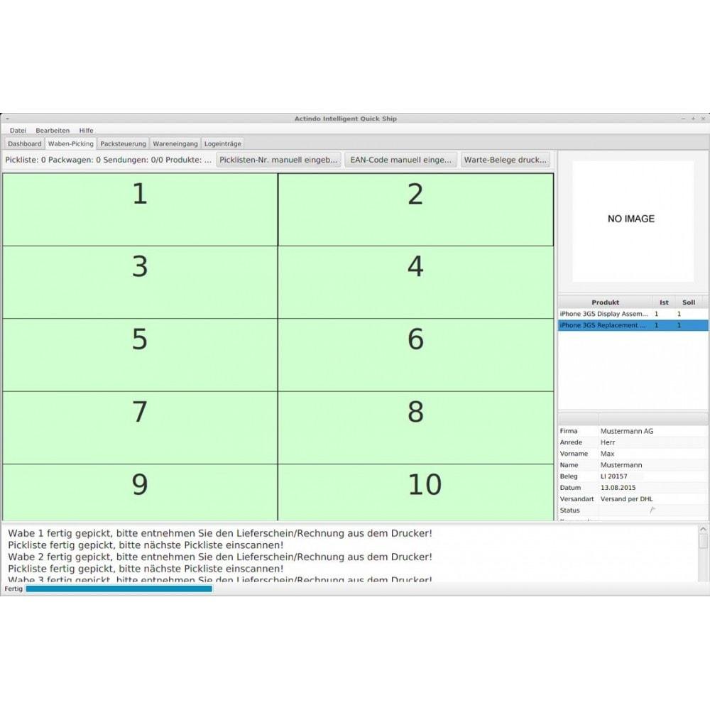 module - Datenabbindungen zu Drittsystemen (CRM, ERP, ...) - Actindo RetailSuite ERP Connector für PrestaShop - 4
