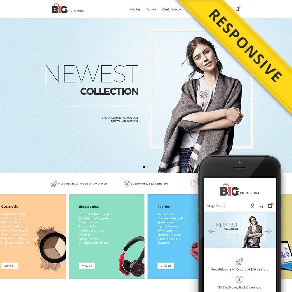 theme - Мода и обувь - Big Online Store - 1