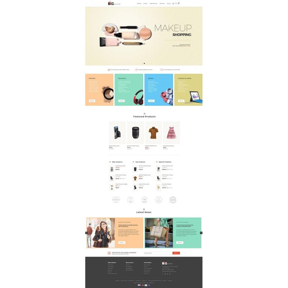 theme - Мода и обувь - Big Online Store - 2