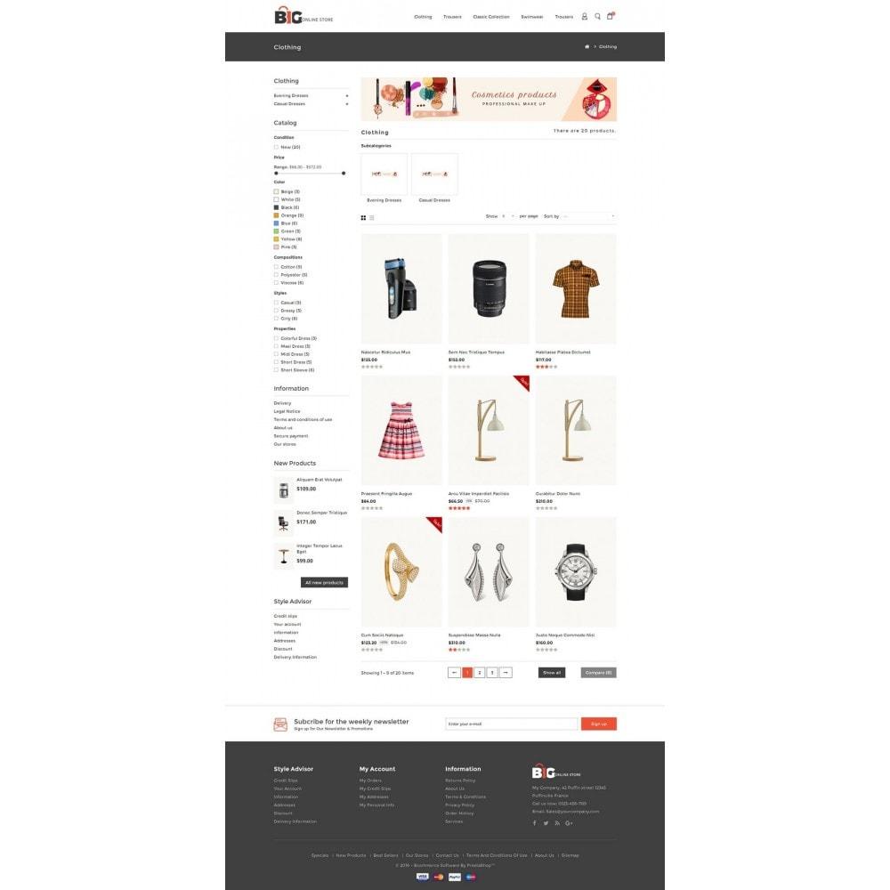 theme - Мода и обувь - Big Online Store - 3