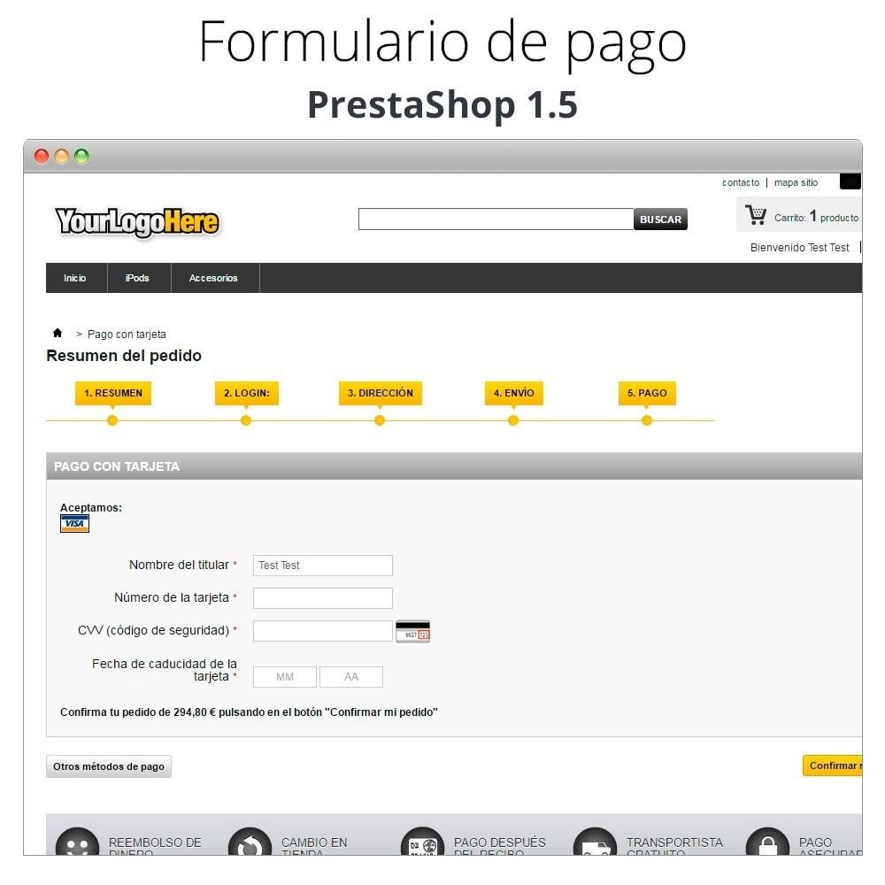 module - TPV (POS) - Pago offline/manual con tarjeta de crédito/débito - 24