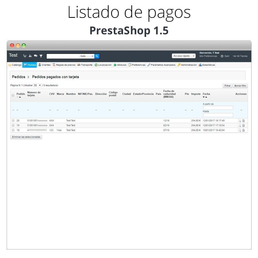 module - TPV (POS) - Pago offline/manual con tarjeta de crédito/débito - 28