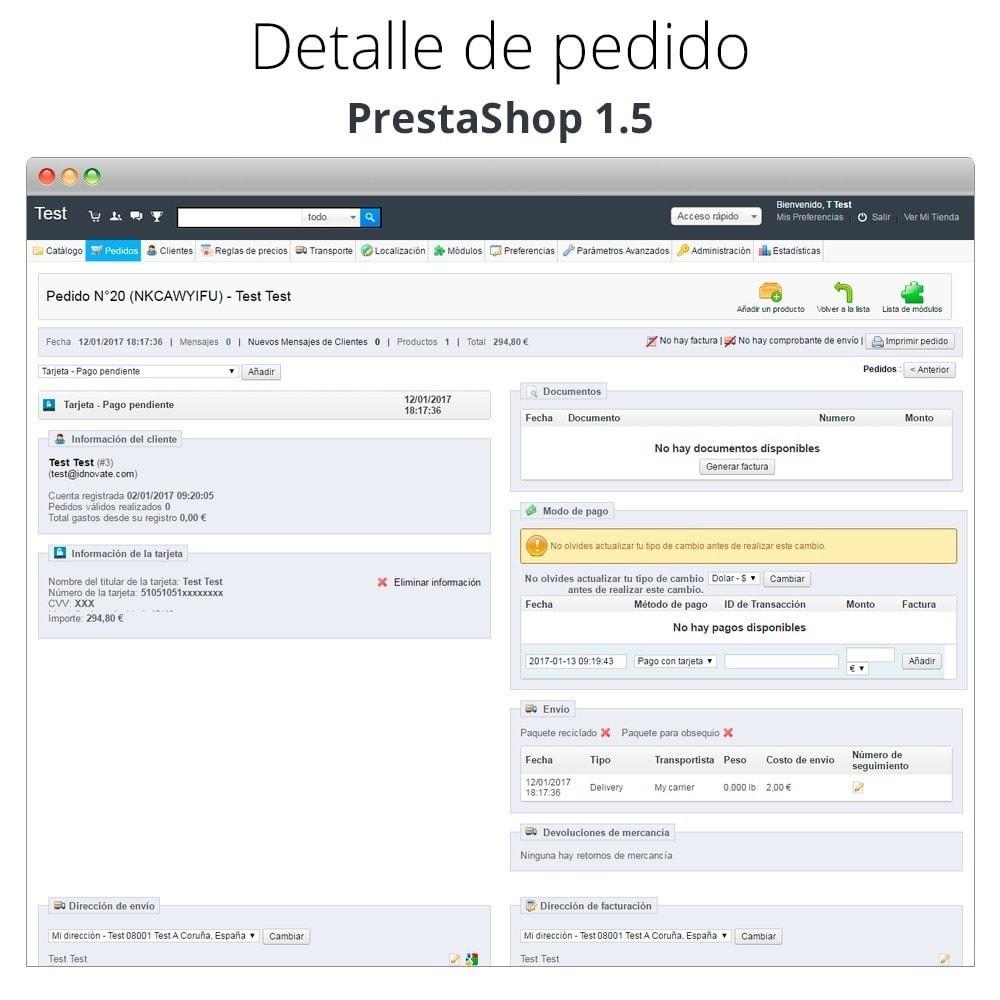 module - TPV (POS) - Pago offline/manual con tarjeta de crédito/débito - 29