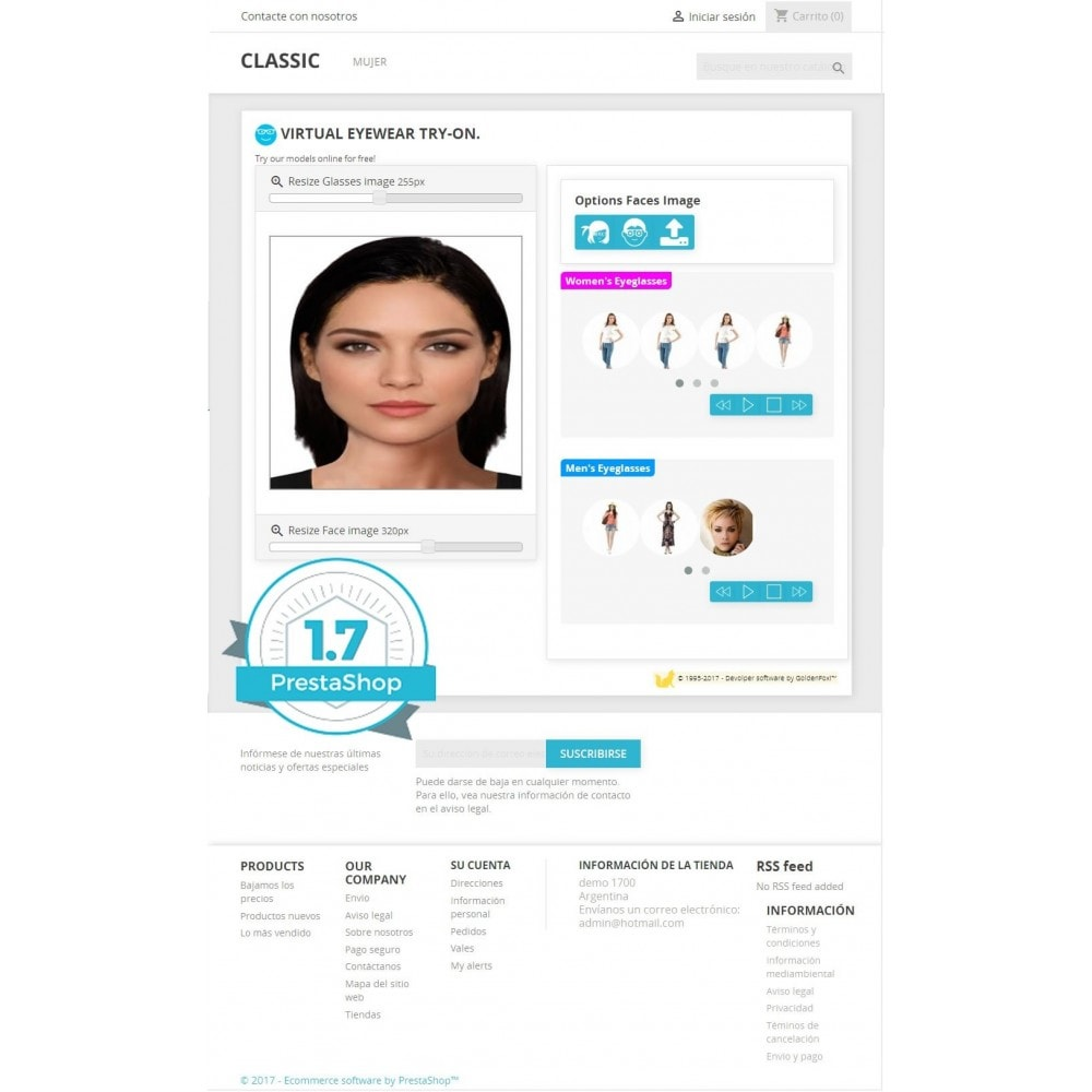 module - Prodotti Digitali - Virtual Try-on Eyeglasses Online - 5
