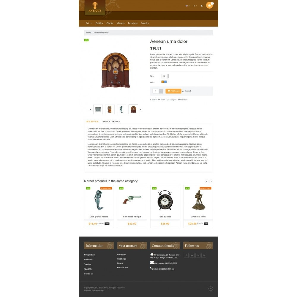 theme - Arte y Cultura - VP_Antique Store - 4
