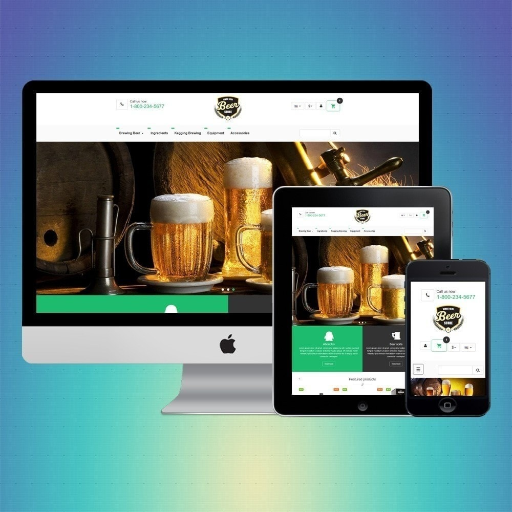 theme - Drink & Tobacco - VP_Beer Store - 1