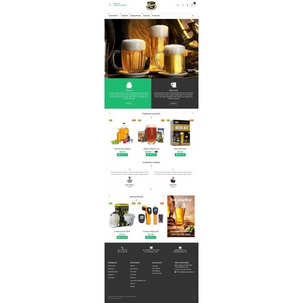theme - Drink & Tobacco - VP_Beer Store - 2
