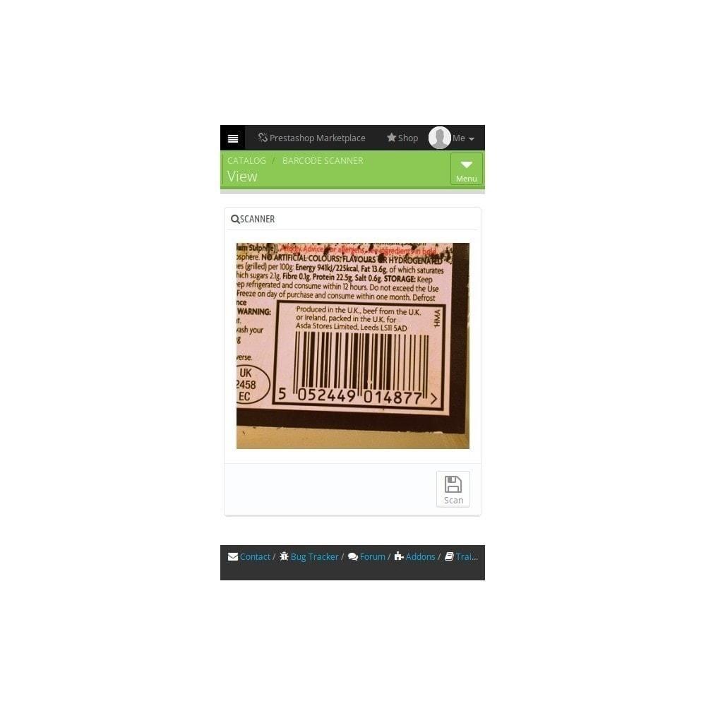 module - Zarządzanie zapasami &  Dostawcy - BarcodeScanner - 1
