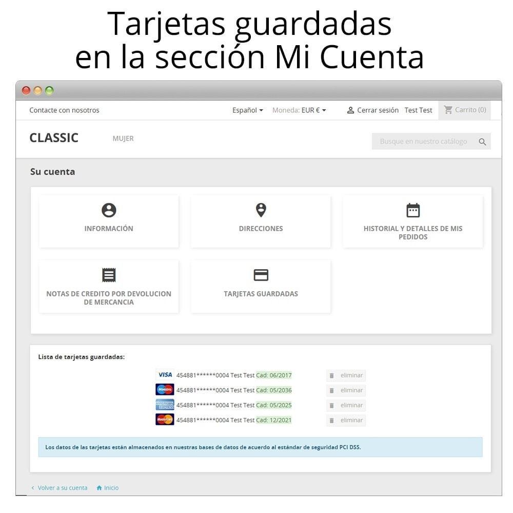module - Pago con Tarjeta o Carteras digitales - Redsys Insite pago tarjeta y gestión de devoluciones - 13