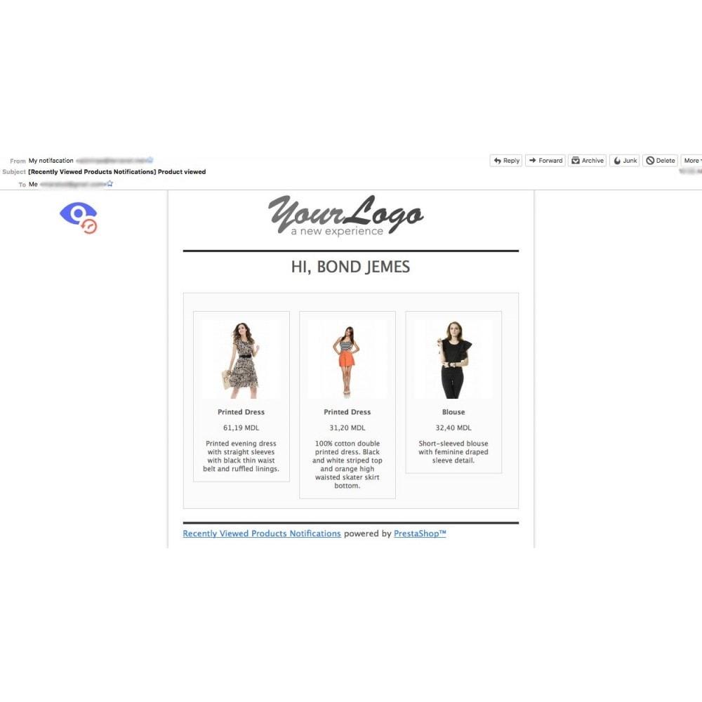 module - Vendas cruzadas & Pacotes de produtos - Recently Viewed Products Notifications - 2