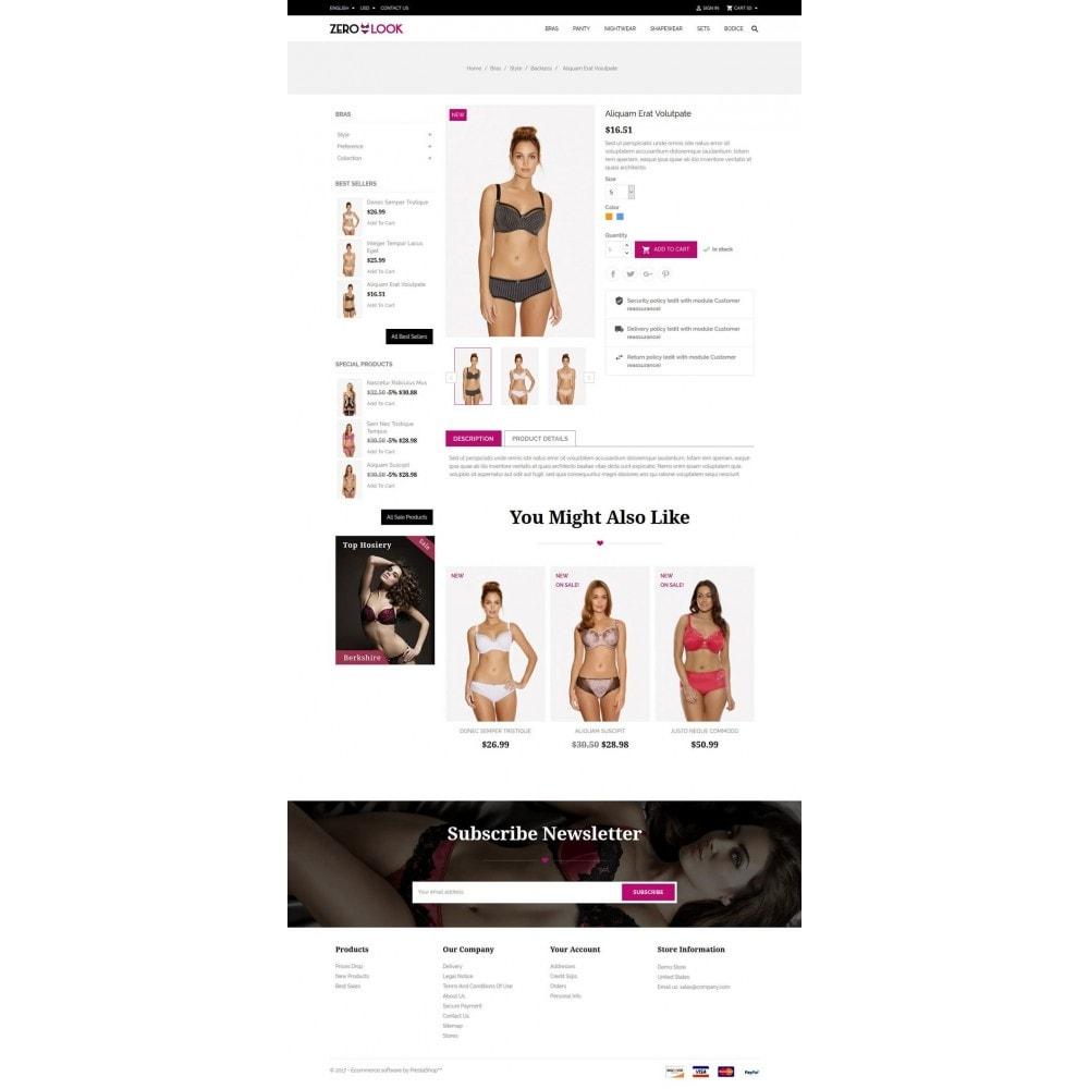 theme - Lingerie & Adulti - Zero Look online Store - 5