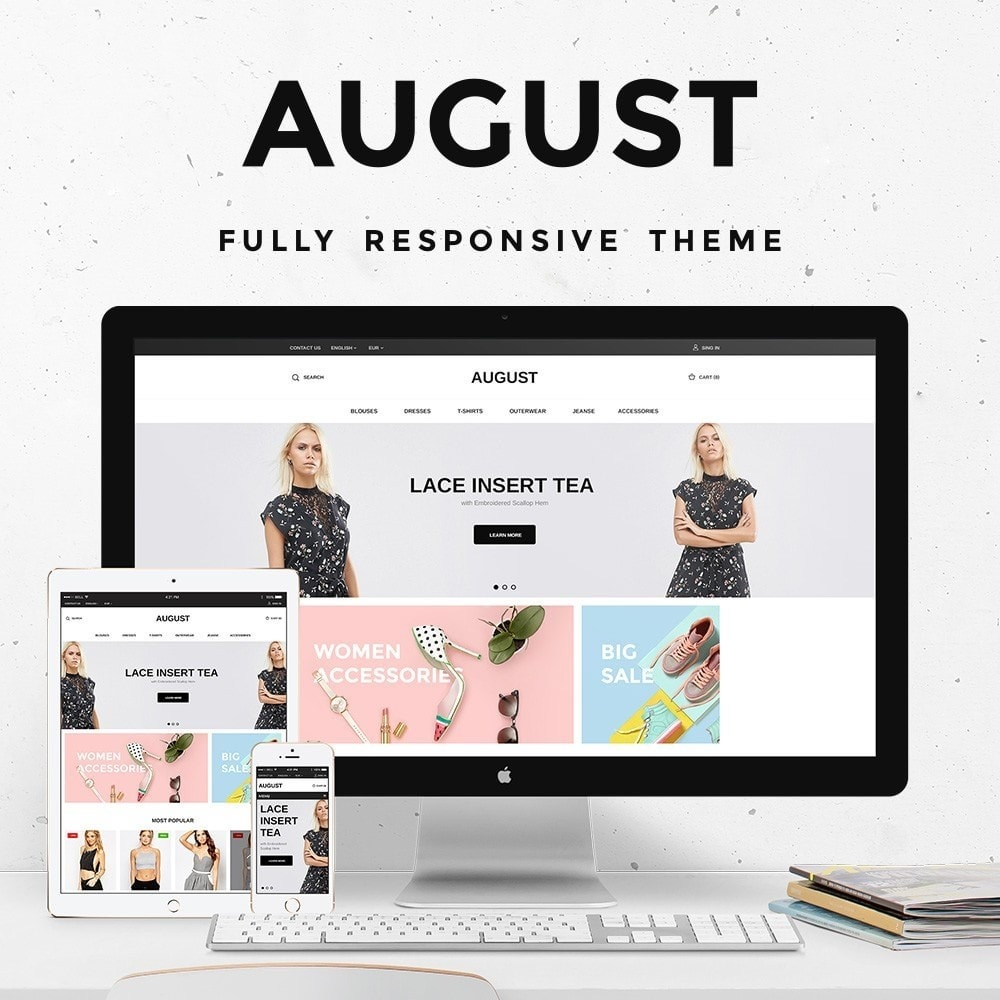 theme - Mode & Chaussures - August Fashion Store - 1
