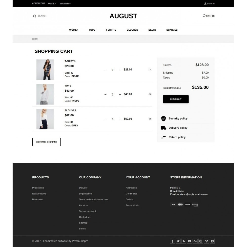 theme - Mode & Chaussures - August Fashion Store - 7