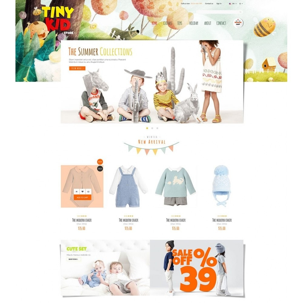 theme - Niños y Juguetes - Tiny Kid - 5
