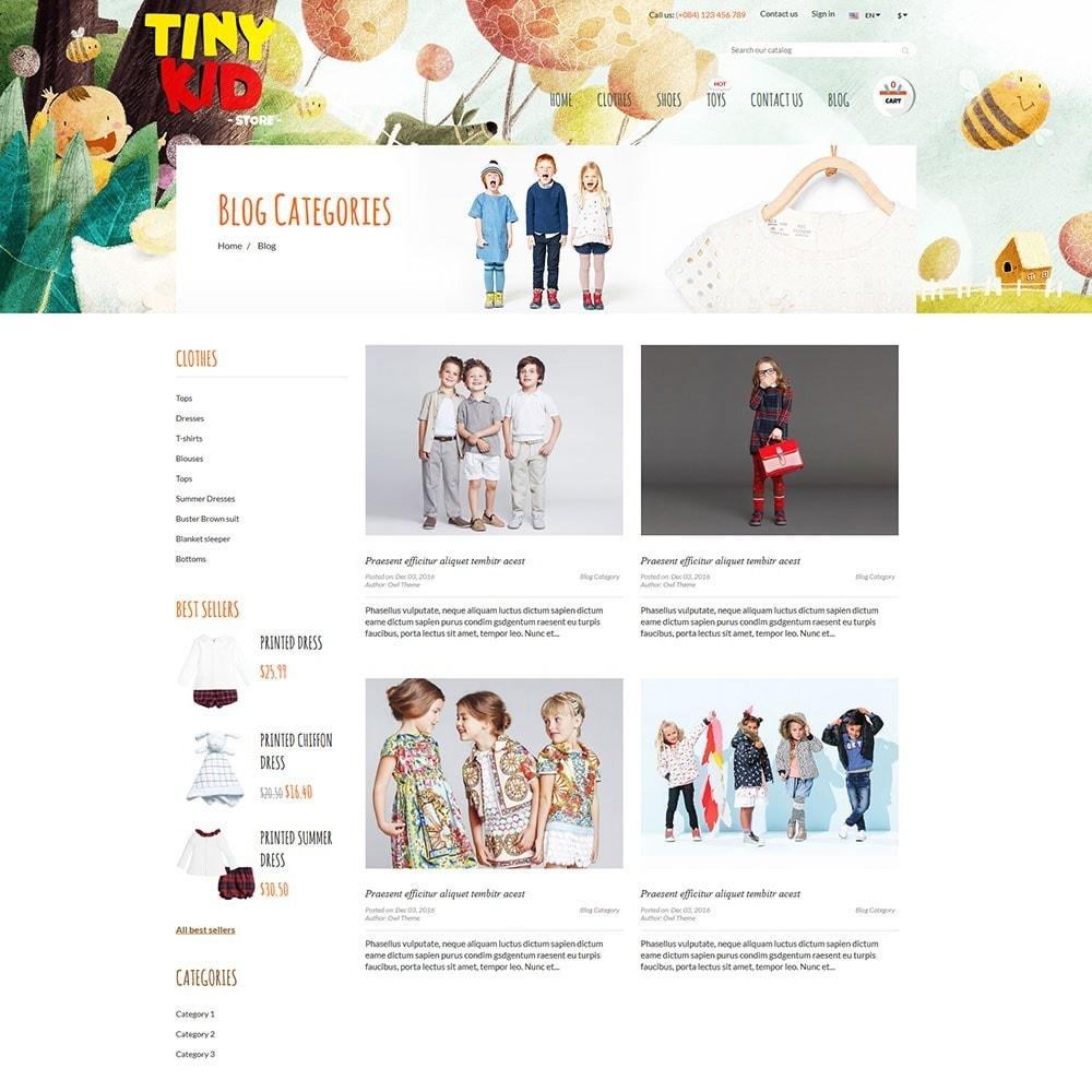 theme - Дети и Игрушки - Tiny Kid - 6