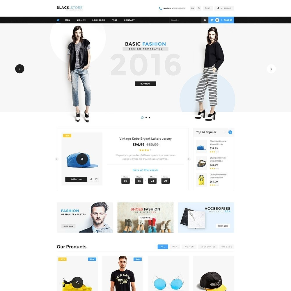 theme - Moda y Calzado - Pts Blackstore - 2