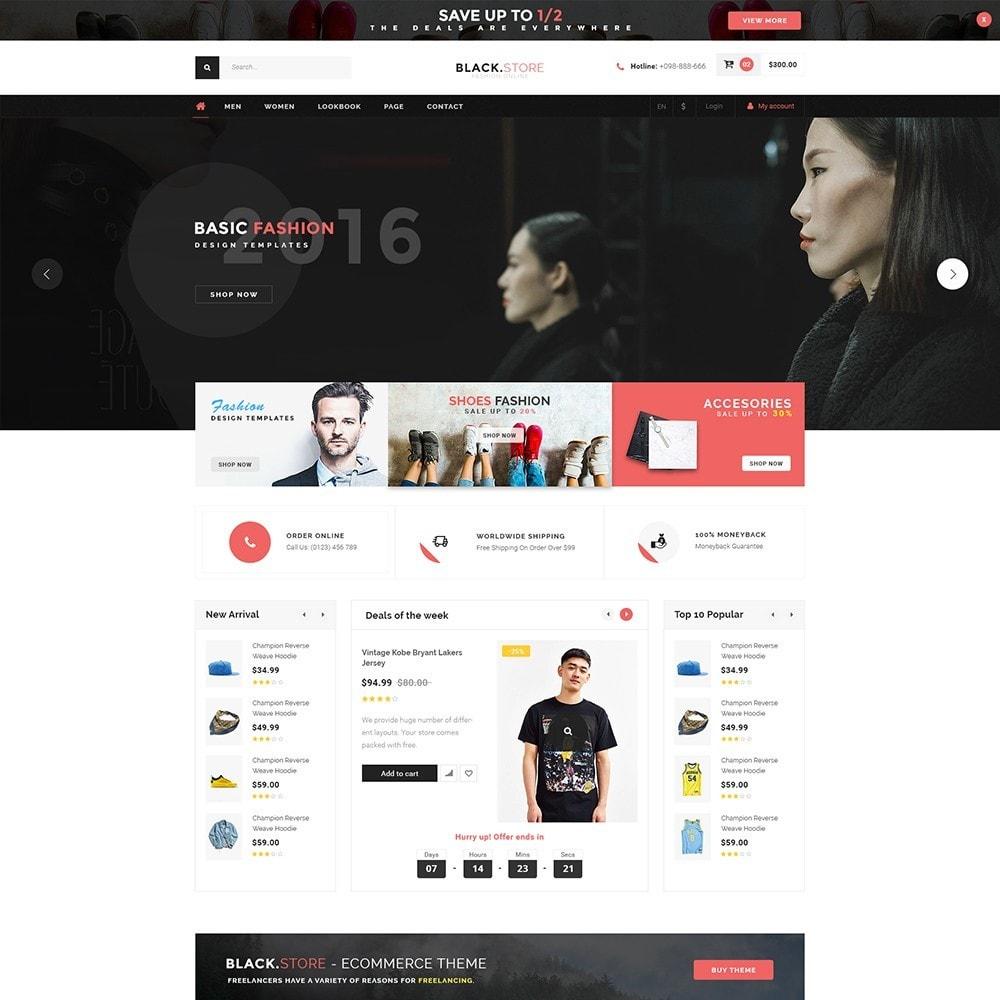theme - Мода и обувь - Pts Blackstore - 3