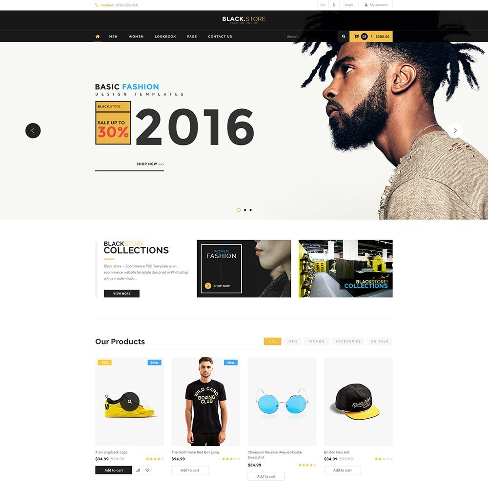 theme - Мода и обувь - Pts Blackstore - 4