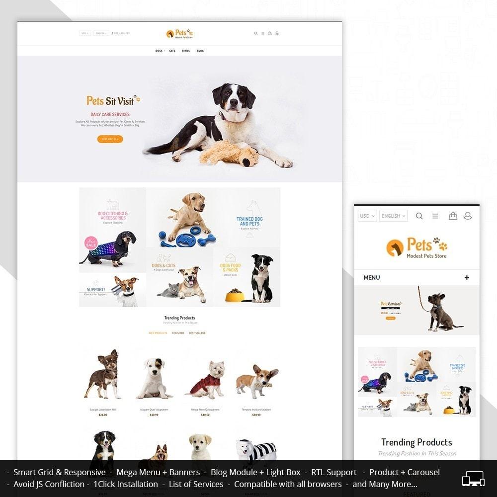 theme - Zwierzęta - Animal Pets Store - 1