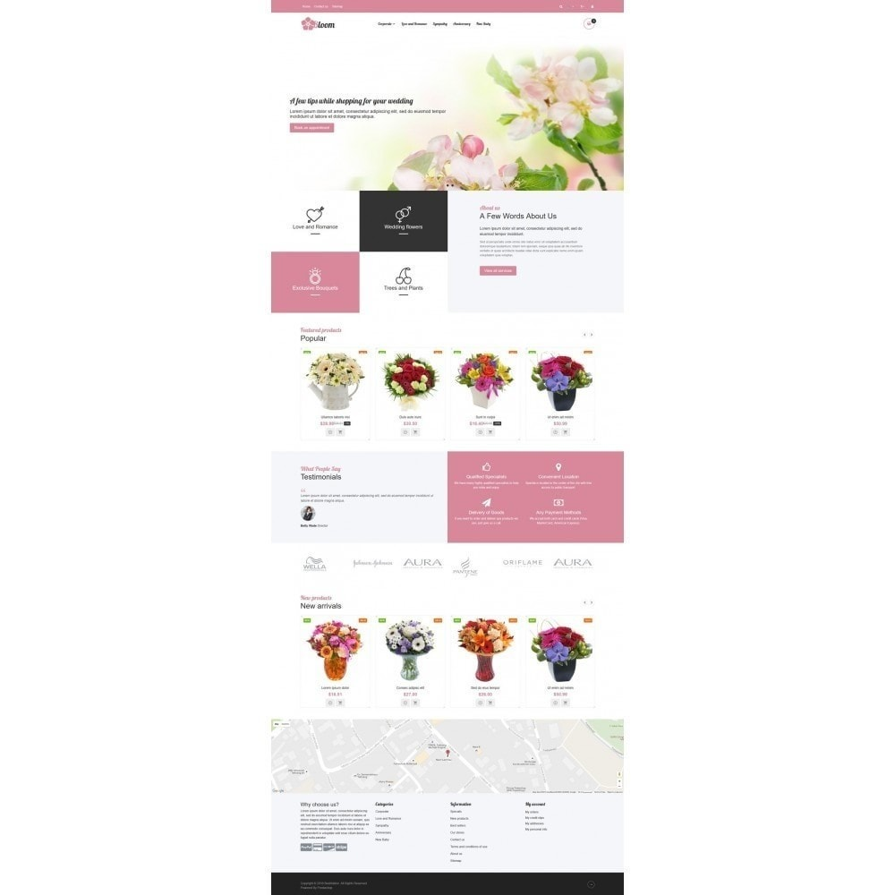 theme - Prezenty, Kwiaty & Uroczystości - VP_Bloom Store - 2
