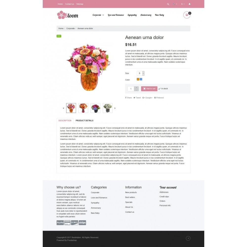 theme - Prezenty, Kwiaty & Uroczystości - VP_Bloom Store - 4